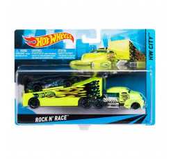 Caminhão Transportador Hot Wheels - Rock N' Race - Mattel